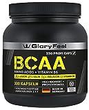 BCAA 330 Kapseln - Der VERGLEICHSSIEGER 2019*- Essentielle Aminosäuren Leucin, Valin und Isoleucin...