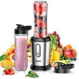 FOCHEA Mixer Smoothie Maker, 500W Mini Standmixer, Smoothie Mixer, Multifunktion Smoothiemaker mit...