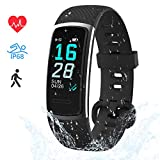 LIFEBEE Fitness Armband, Fitness Tracker mit Pulsmesser Smartwatch Wasserdicht IP68 Fitness Uhr...