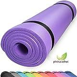 diMio Yogamatte Gymnastikmatte rutschfest mit Tragegurt, phthalatfrei + SGS-geprüft (SkyBlue, 200 x...