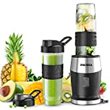 Mixer Smoothie Maker, Fochea Standmixer, 500 Watt Mini Smoothie Mixer, Multifunktion Smoothiemaker...