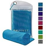 Balhvit Kühlung Handtuch, Microfaser Handtuch, Schweißsaugfähig Kühlendes Kaltes Eishandtuch,...
