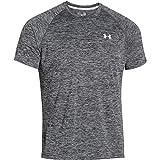 Under Armour Herren UA Tech Ss Fitness T-Shirt, Schwarz, L