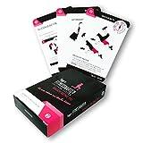 figgrs Trainigskarten Bauch Beine Po Bodyshaping I 50 Fitnessübungen für einen schlanken &...