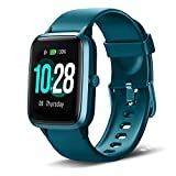 Smartwatch, Fitness Armband Tracker Voller Touch Screen IP68 Wasserdicht Schrittzähler Uhr Damen...