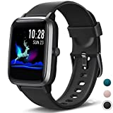 Fitpolo Gesundheit Fitness Uhr, Aktivitätstracker mit 1,3 '' Farbbildschirm, Pulsuhr,...