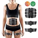 Charminer Elektrostimulation, Elektrischer Muskelstimulation EMS-Training Muskelaufbau und...