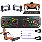 Tendak Push up Board, 13 in 1 Push up Board, Multifunktionale Fitness Geräte Push Up...