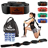 Gymnastik-Gurt mit 10 Schlaufen | Yoga-Gurt 200 x 4 cm | Stretch-Strap für mehr Beweglichkeit |...