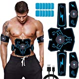 Duang Muskelstimulator EMS AbS Trainer Fitness Training Gear Bauchmuskeln Toner -USB...