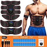 AVIDDA EMS Muskelstimulator,Professionelle Elektrische EMS Trainingsgerät,USB Wiederaufladbar...