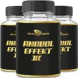 Anabol Effect 3 - Muskelaufbau - Extrem Anabolika - stärkster Testosteron Booster - Pre Workout,...